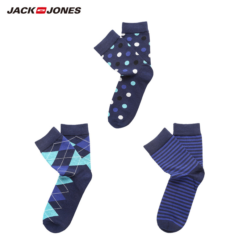 JackJones Men's Long Socks Cotton Stocking Underwear Homewear Brand Menswear 21831Q531