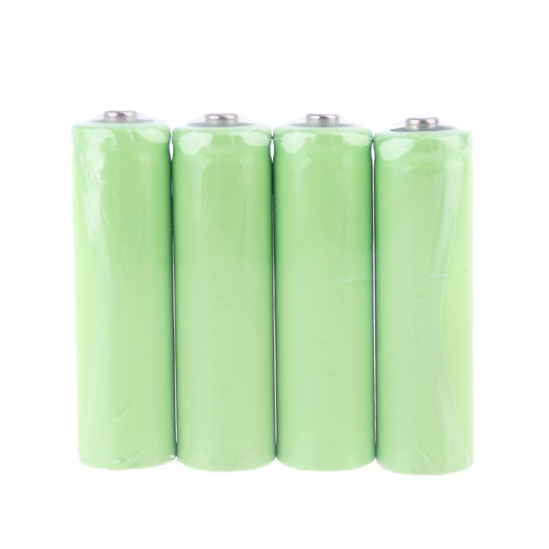 4Pcs No Power AA Dummy Fake Battery Setup Shell Placeholder Cylinder Conductor