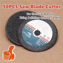 50PCS Saw Blade Cutter Lame Diametro 80 Working Thickness 1.2mm Cutter Grinding Wheel Abrasives Tool Polishing Cutting Sanding
