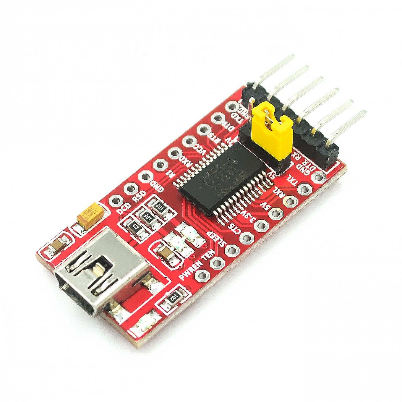 FT232RL FT232 USB к TTL 5V 3,3 V кабель для загрузки к последовательному адаптерному модулю USB к 232