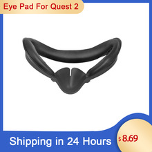 For Oculus Quest 2 Replacement PU Face Pad Cushion Face Cover Bracket Protective Mat Eye Pad For Oculus Quest 2 VR Accessories