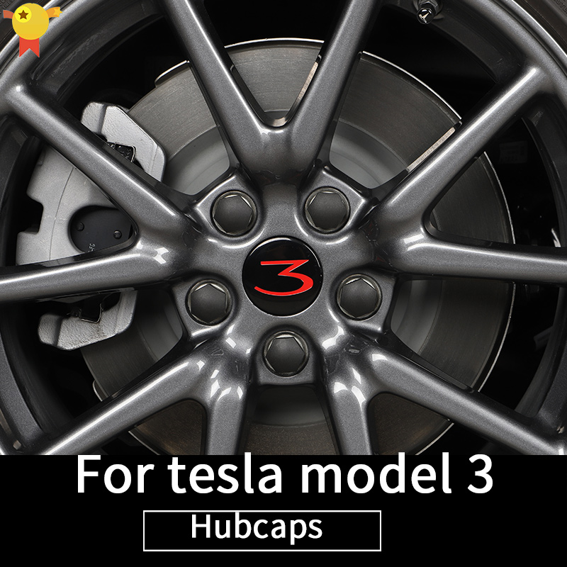 Wheel Cover Trim For Tesla Model 3 Wheel Ccessories/car Accessories Model 3 Tesla Three Tesla Model 3/accessoires Model3