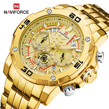 Top Brand Watches Mens Steel or Leather