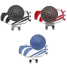 Clip Golf-Ball-Marker Magnetic Golf-Cap-Clip for Enthusiast Gifts Pattern-Hat Personalized