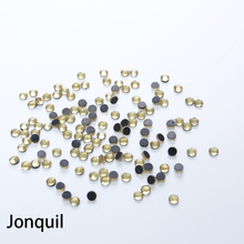 Large Package Machine Cut Jonquil Strass DMC Hotfix Rhinestones For crystal stone And Nail Art Fabric Garment