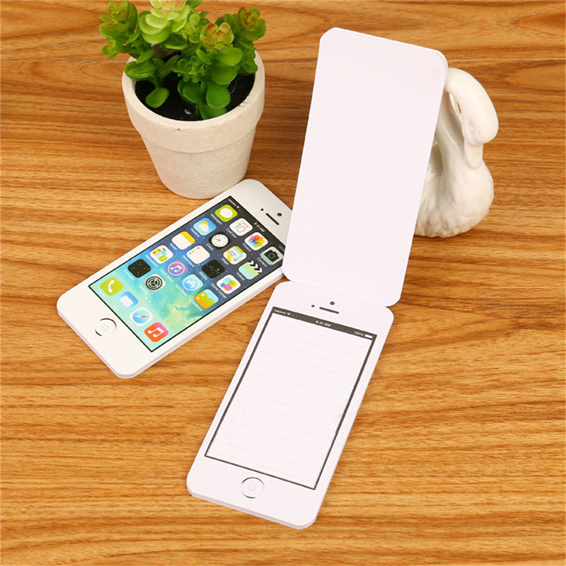 Notebook Sticky Note Paper Cell Phone Shaped Notepad Planner Office Supplies New Creative Stationery Gift