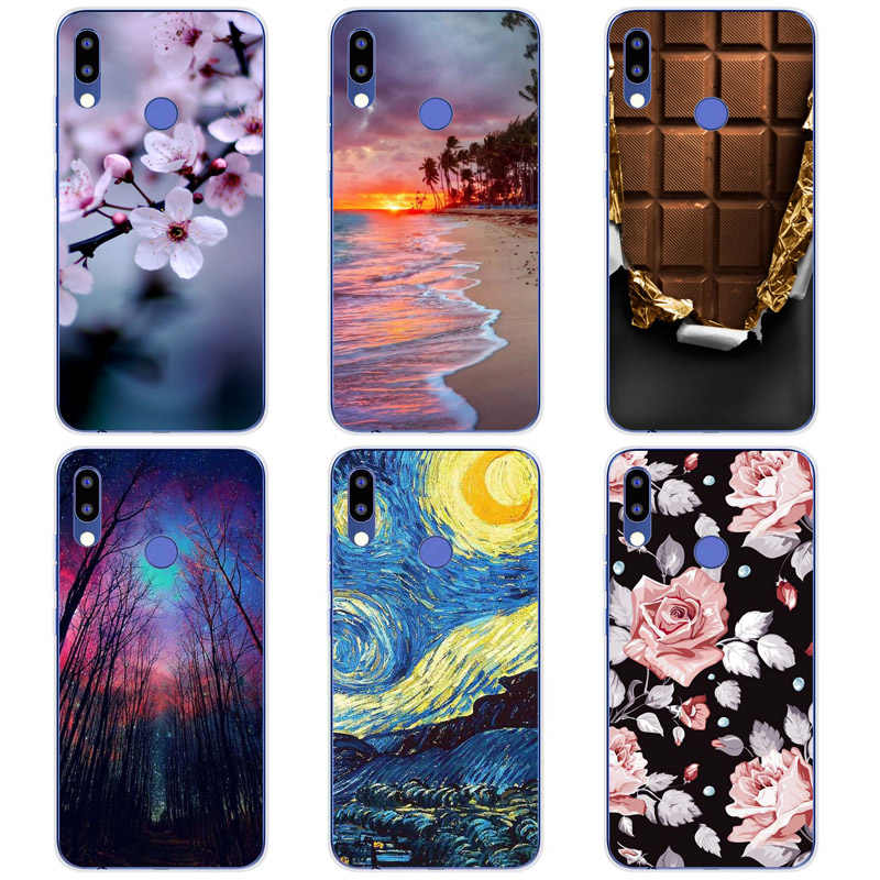 Soft Silicon Tpu Case Voor Tecno Camon 11 Camon11 Pro Case Print Cover Voor Tecno Camon 11 Pro Cartoon rose Patroon Shell