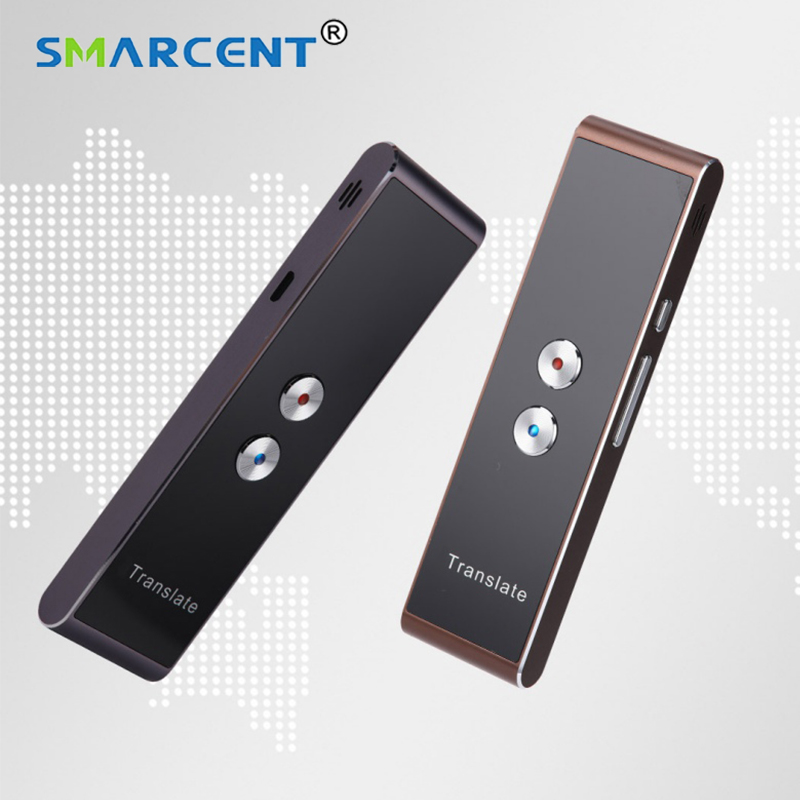 Portable 39 Multi-Language Translation T8 Smart Speech Translator Two-Way Real Time For Learning Travelling Business Meeting image