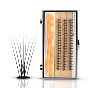Image 3 - 3 خطوط الحرير المنك الفردية جلدة مضيئة الطبيعة طويلة النمو رمش تمديد أدوات ماكياج الجمال