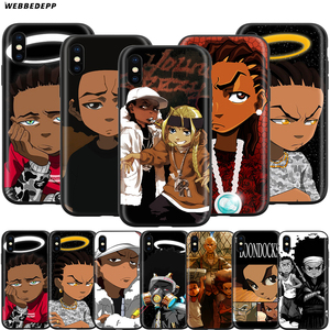 Webbedepp The Boondocks Case for Apple iPhone 11 Pro XS Max XR X 8 7 6 6S Plus 5 5S SE(China)