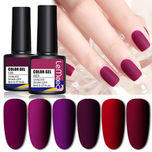 Lemooc Nagellak Gel Semi Permanant Soak Off Nail Vernissen Lakken Uv Led Poetsmiddelen En Glitter Gel Base Matte Top jas