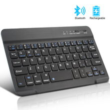 цена Mini Bluetooth Keyboard Wireless Keyboard for iPad Apple Mac Tablet Keyboard for Phone Universal Support IOS Android Windows онлайн в 2017 году