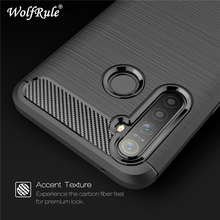 WolfRule Realme 5 Pro Case Realme Q Cover Shockproof Soft TPU Brushed Back Phone
