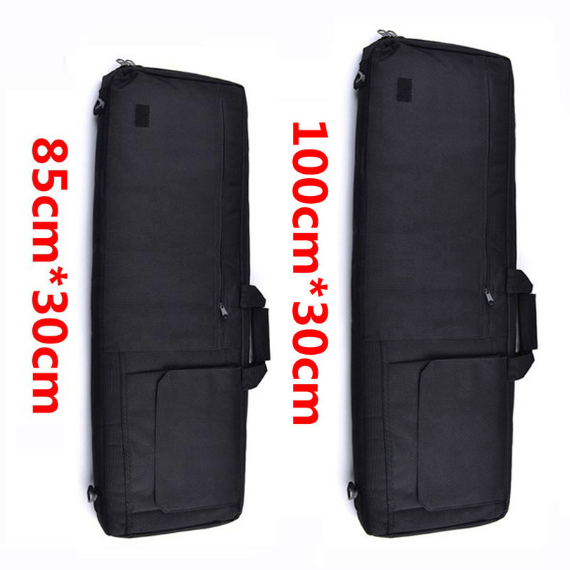 85CM/100CM Military Equipment Tactical Gun Bag Airsoft Shooting Rifle Case Hunting Wargame Shoulder Pouch With Protect Cotton