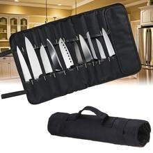 Шеф-повар Ножи сумка для переноски сумки чехол сумка Кухня Пособия по кулинарии Портативный прочная сумка для хранения 22 Карманы