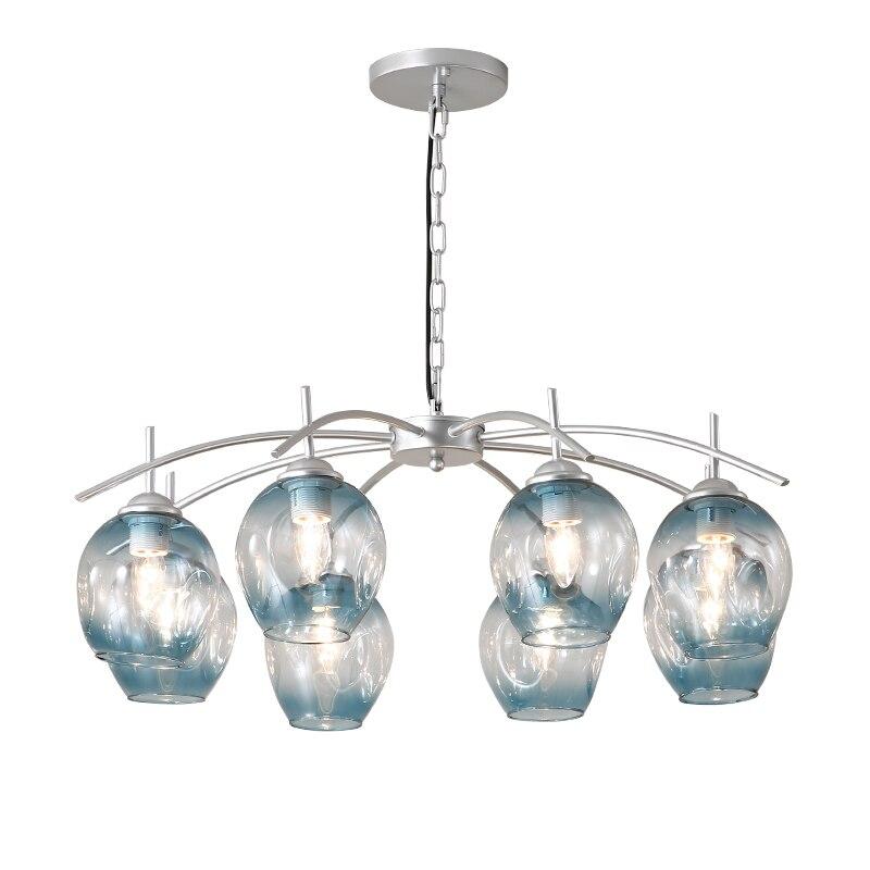 Modern Creative Europe Glass Pendant Light Led E27 With 3 Colors For Bedroom/restaurant/living Room/kitchen/cafe/hotel/office Pendant Lights     - title=