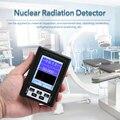 BR-9B Tenuto In Mano Portatile Display Digitale Rilevatore di Radiazioni Nucleari Contatore Geiger Semi-Tipo funzionale Dosimetro Marmo Tester