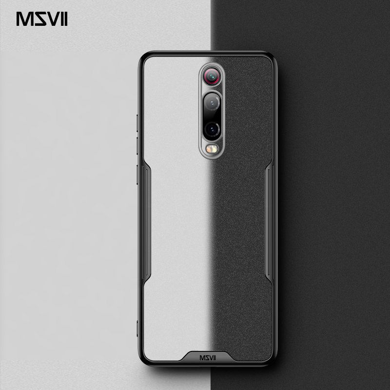 Msvii For Xiaomi Mi 9T Case Silicone Capa For Redmi K20 Pro Case Transparent K20 Funda For Mi9T Cover Mi 9T Pro Coque(China)