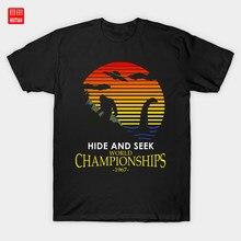 Verstecken Und Suchen Wm 1967 T-Shirt Lustige Nessie Legende Monster Spaß Raum Mythos Loch Ness Bigfoot Alien