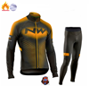 Strava equipe inverno velo térmico ciclismo roupas dos homens manga longa camisa terno equitação ao ar livre bicicleta mtb roupas bib calças conjunto 8