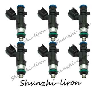 6pcs Fuel Injector 0280158028 for Chrysler 300 Pacifica Sebring Town Country Dodge Charger Journey Car Engine