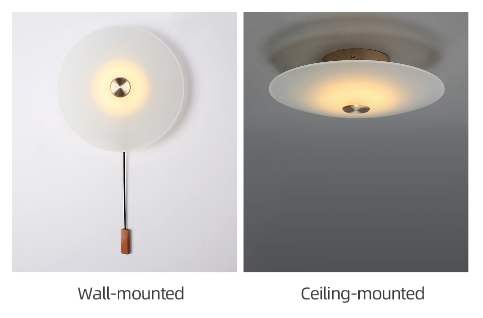 H871fbc22af9a44d0a5a7db07ece71d0c4 - Aisilan LED wall Light Nordic light luxury bedroom bedside lamp with switch entrance porch wall lamp