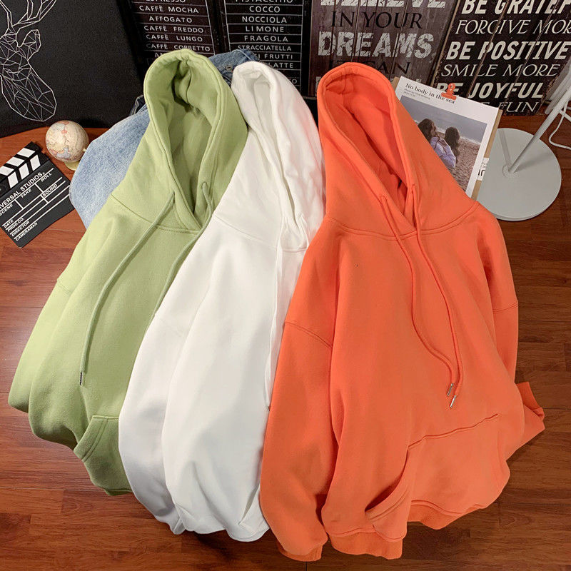 Privathinker Korean Men's Hoodies 12 Colors Autumn Thin Hooded Sweatshirts Solid Color Men Casual Pullovers Hoodies 2020 Male