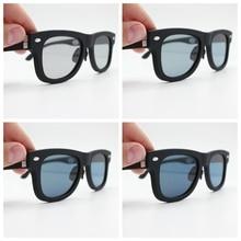 2020 التصميم الأصلي يعتم النظارات الشمسية LCD العدسات المستقطبة نفاذية الإلكترونية Mannually قابل للتعديل نظارات شمسية خمر