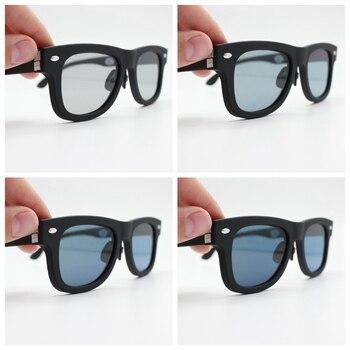 2020 Original Design Sunglasses LCD Polarized Lenses Electronic Transmittance Mannually Adjustable Lenses Sun glasses Vintage