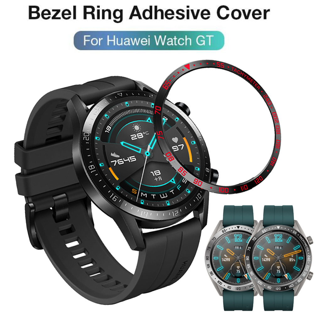 For Huawei Watch GT2 46mm GT 2 Bezel Ring Styling Frame Case Cover Protection For Gear S3 Frontier Stainless Steel Ringke #E