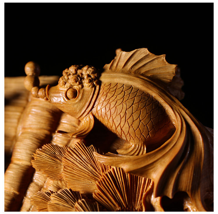 Chinese Wood Boxwood Hand Carving Fengshui Zodiac Tang Horse Solid Statue