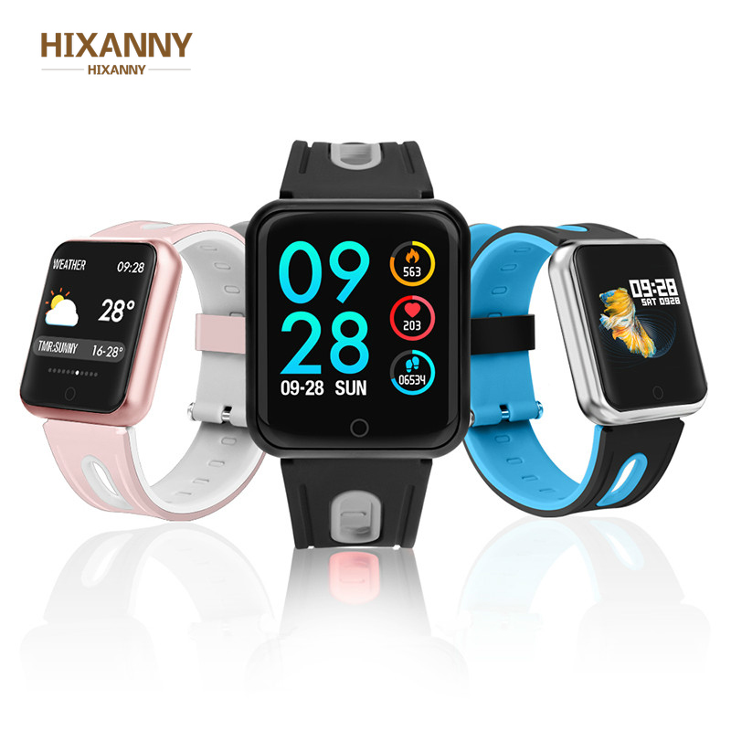P68 Sport IP68 <font><b>Smart</b></font> Uhr fitness armband aktivität tracker heart rate monitor blutdruck für ios Android apple <font><b>iPhone</b></font> <font><b>6</b></font> 8 image