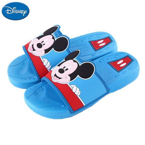 original disney criancas chinelos meninos meninas minnie mickey mouse casa de banho do jardim de