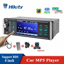 4 Inch 1Din MP5 Speler Touch Bluetooth Autoradio Bidirectionele Interconnectie Rds Am Fm 4-USB Ondersteuning Iso Android Mirrorlink