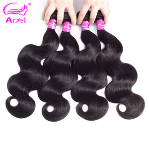 Image 4 - Body Wave Bundles 28 30 Inch Bundles Deal Full 100% Human Hair Bundles Brazilian Hair Weave Bundles Long Remy Hair Extensions