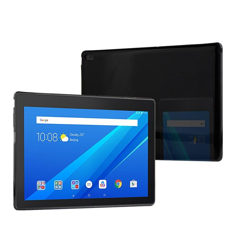 Coque arrière de protection pour tablette, 10.1 pouces, TPU pour Lenovo Tab E10 TB-X104L TB-X104 F 10.1