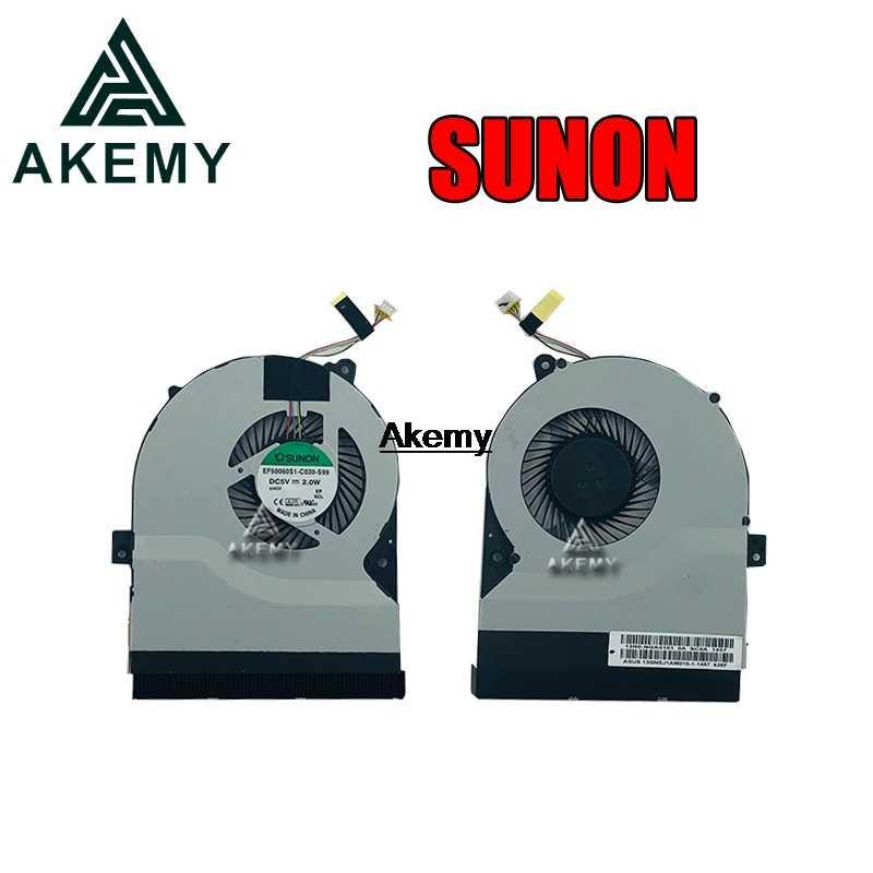 Do SUNON nowy laptop CPU Cooler wentylator dla For Asus K56 K56C K56CA K56X K56CM K56CB S550 S550C S550CM S550CB S56C s56CM S56CB R505C