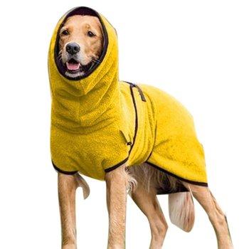 Gorąca sprzedaż europejska i amerykańska odzież dla zwierząt polar Velvet Golden Retriever Dog grube ciepłe ubrania artykuły dla zwierząt dla DropShipper tanie i dobre opinie CN (pochodzenie) Other Jesień zima Moda