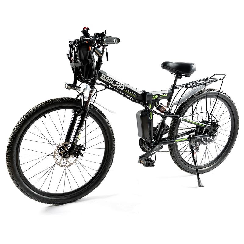 Складной электрический велосипед 500W48V 12AH литиевая батарея для взрослых E-Bike с внедорожной регулируемой скоростью 21S электрический горный ве...