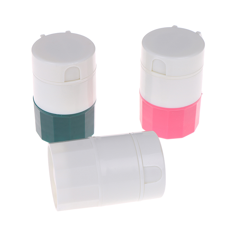 4 в 1 Портативный 4 Слои порошок измельчитель таблеток порошок делитель таблеток разделитель для лекарств ящик для хранения дробилка 3 цвета