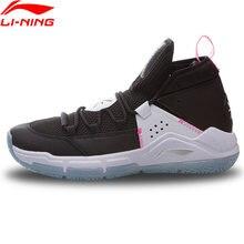 Li-ning men wade durante todo o dia 5 na quadra sapatos de basquete forro nuvem almofada sapatos esporte li ning tênis abpq015