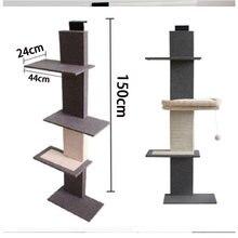 Новый Съемный игровой комплекс для кошек дом башня мебель кондоминиума