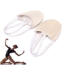 Chaussures de gymnastique rythmique demi-longueur, Roupa ginasta pour enfants et adultes, semelle de peau, tampons de danse