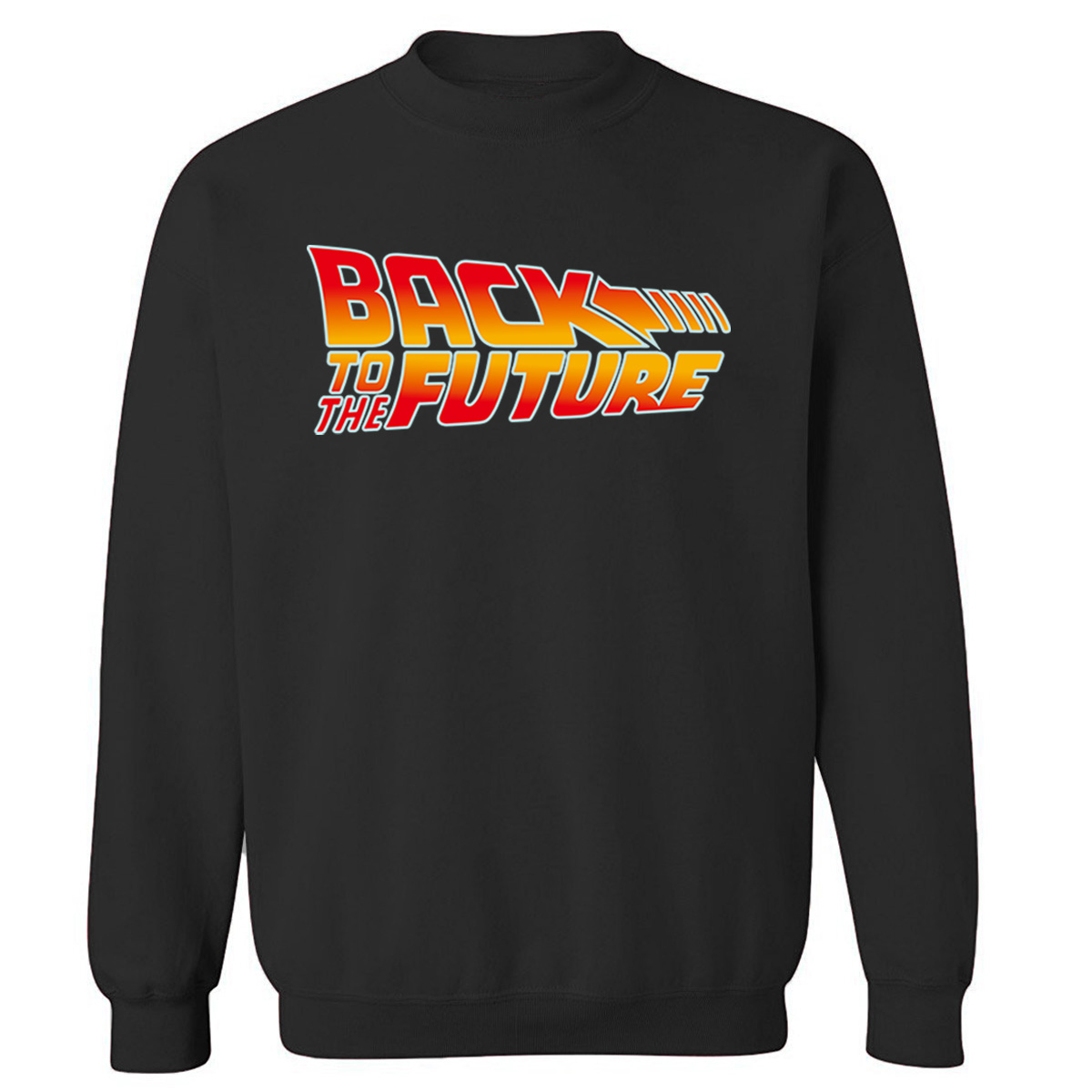 Back To The Future Sweatshirt Men 2019 Autumn Winter Fleece Pullovers O-Neck Brand Clothing Movie Series Mens Sweatshirts Hoodie