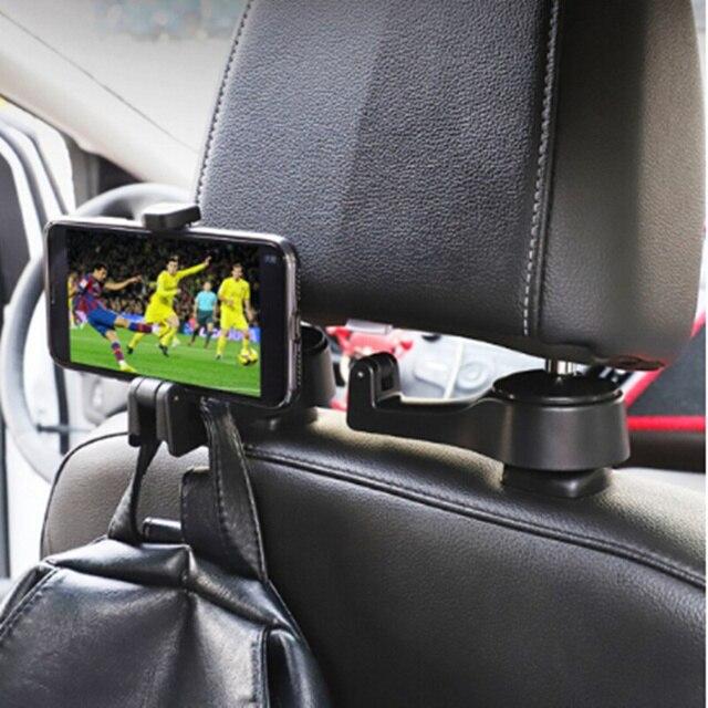 2019 NEW Car Headrest Hook Phone Holder for Lexus RX300 RX330 RX350 IS250 LX570 is200 is300 ls400 CT DS LX LS IS ES RX GS GX-Ser 1