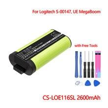 Bluetooth Динамик Батарея cs loe116sl для logitech s 00147 ue