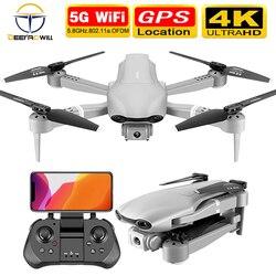2020 novo f3 zangão gps 4k 5g wifi vídeo ao vivo fpv quadrotor voo 25 minutos rc distância 500m zangão hd câmera dupla grande-angular