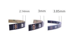 Image 2 - 1 m/5 m WS2812B الذكية led بكسل قطاع ، الأسود/الأبيض PCB ، 30/60/144 المصابيح/m WS2812 IC. WS2812B/M 30/60/144 بكسل ، IP30/IP65/IP67 DC5V