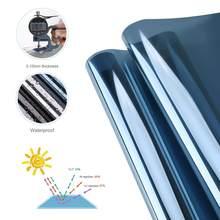 Luckyyj filme de janela de filtro de luz, controle solar anti uv, controle de calor, janela residencial, para vidro autoadesivo