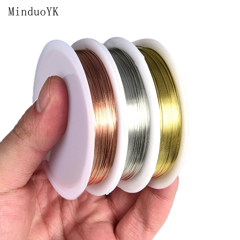 0.2 - 1mm Copper Wire For Jewelry Cord Beading DIY Jewelry Making Craft Cord String Accessories